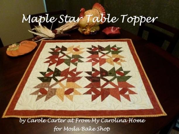 Maple Star Title