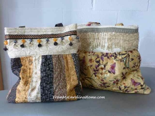 The Charleston Bag! A new pattern at From My Carolina Home