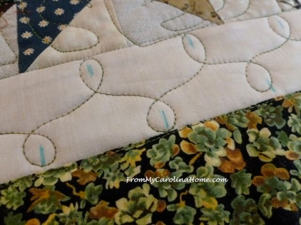 Tango quilted beige border 2