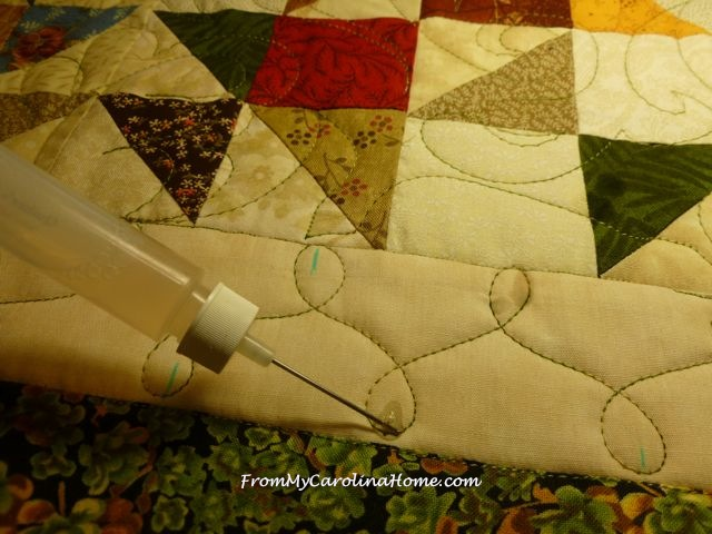 Tango quilted beige border 3