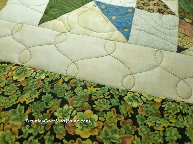 Tango quilted beige border 4