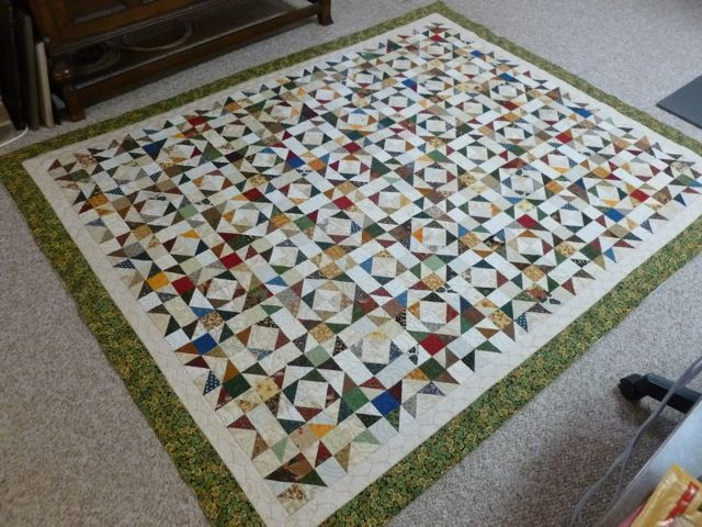 Tango quilting finished 1