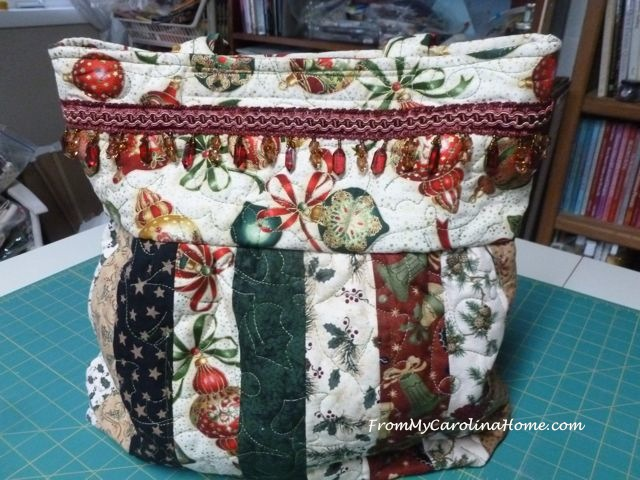 Christmas Charleston Bag 2